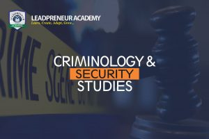 CRIMINOLOGY AND SECURITY STUDIES bsc