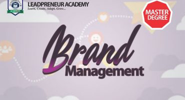 brand management masters program