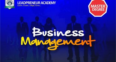 M.Sc Business Management