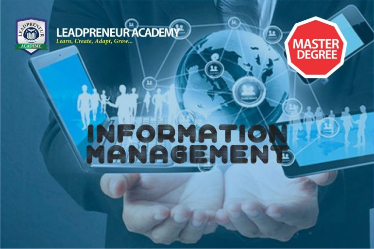 M.Sc information Management