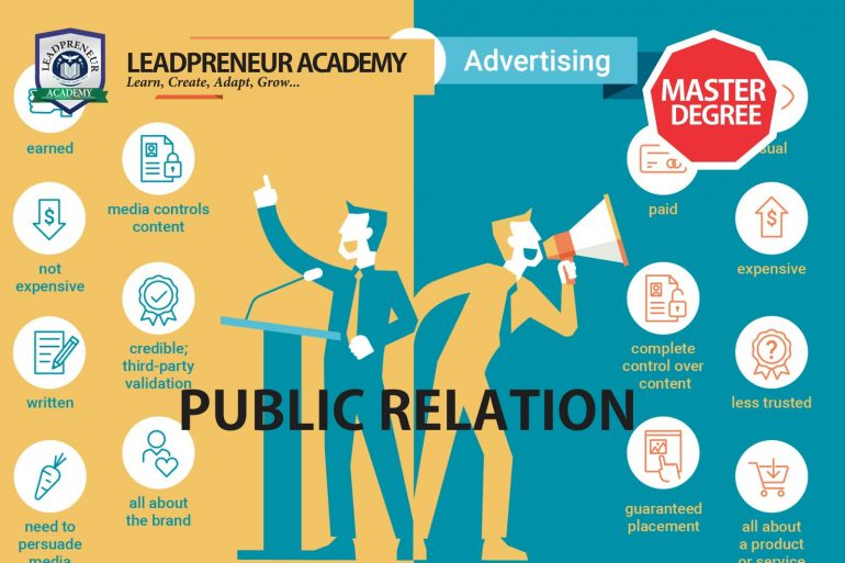 Distance learning M.Sc public relation
