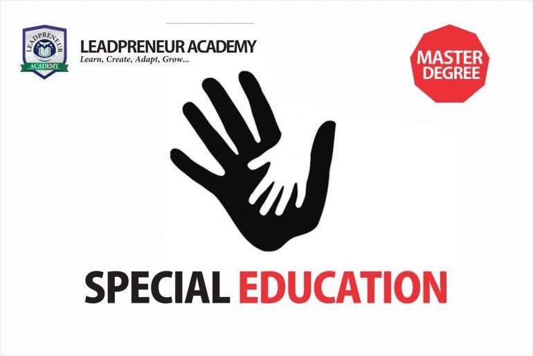 special education masters program