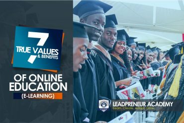 7 True values and Benefits of online Education (E-learning)