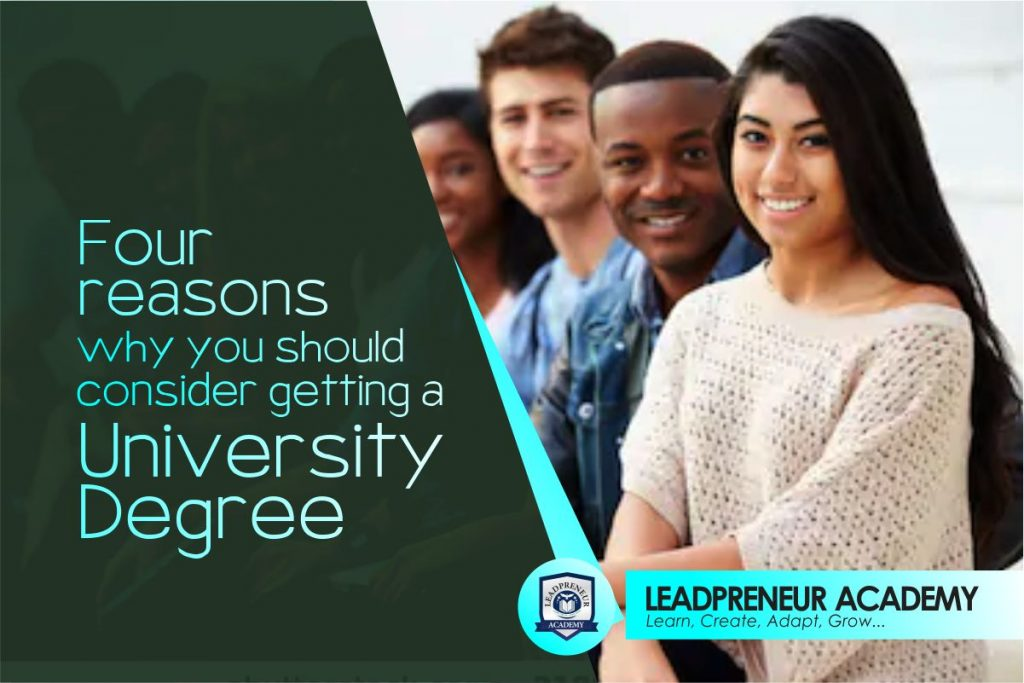 four reasons why you should consider getting a university degree
