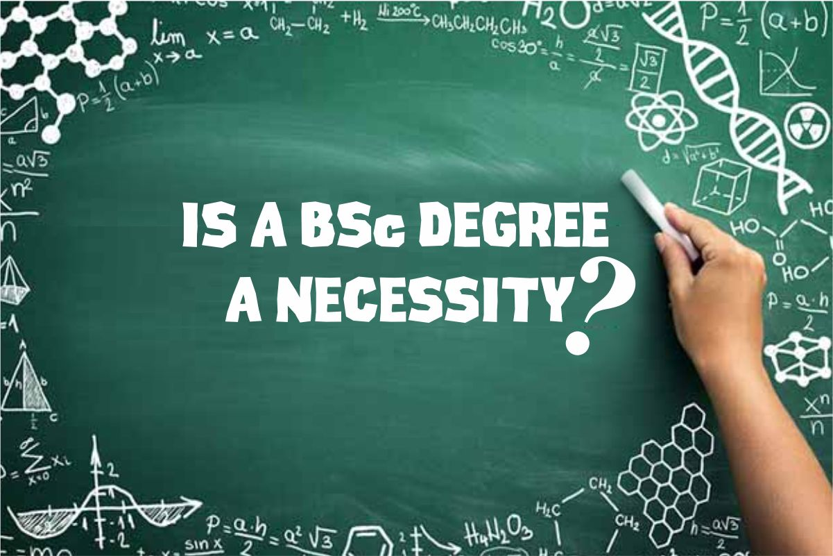Is a BSC degree a necessity?