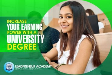 Increase your earning power with an online university degree