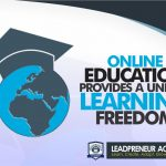 Online Education Provides a Unique Learning Freedom