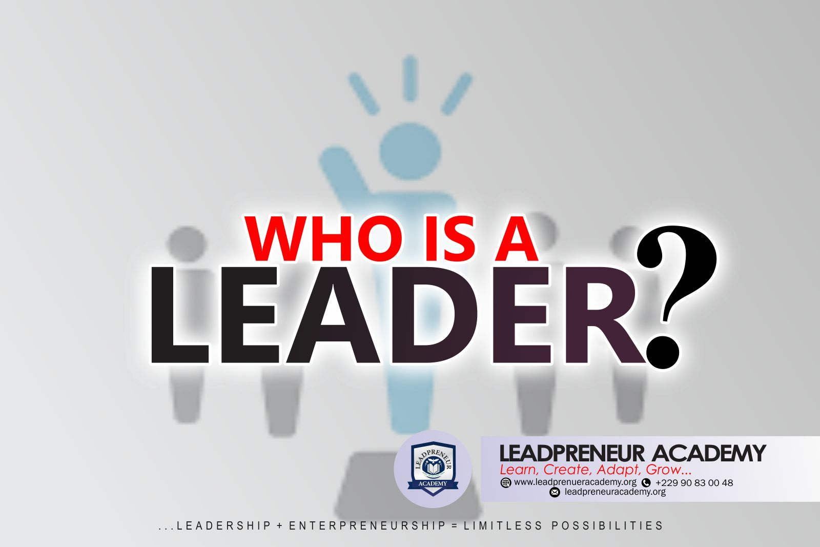 who is a leader