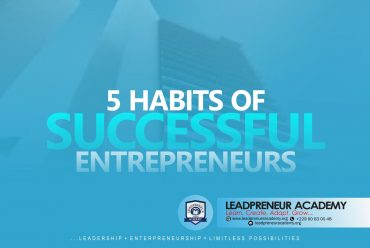5 HABITS OF SUCCESSFUL ENTREPRENEURS