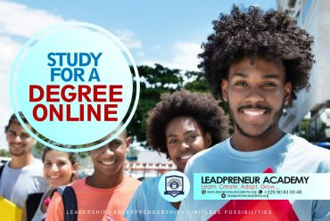 STUDY FOR A DEGREE ONLINE – LEADPRENEUR ACADEMY