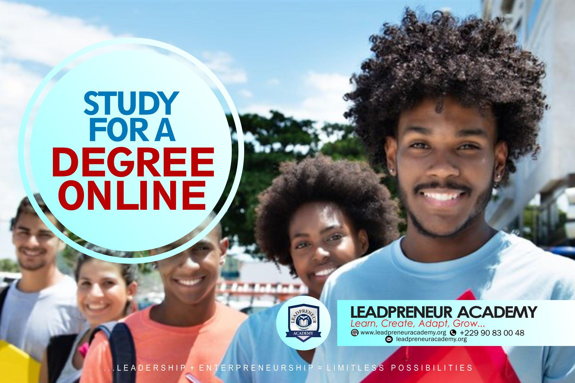 online degree leadpreneur academy