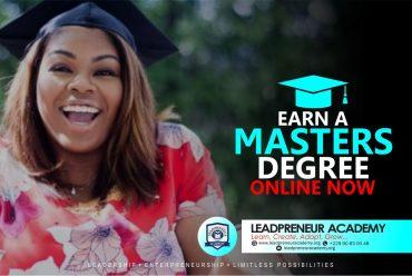 Online Masters Degree – Leadpreneur Academy