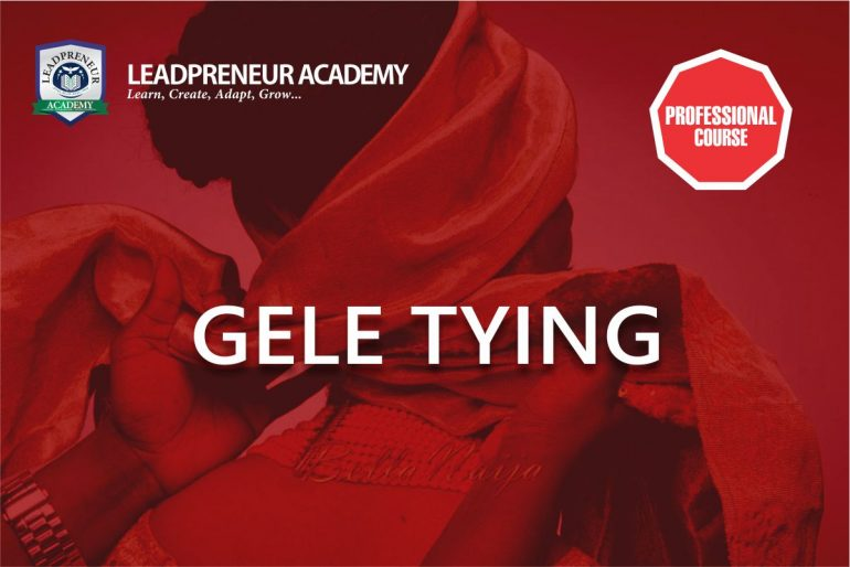 Distance learning gele tying
