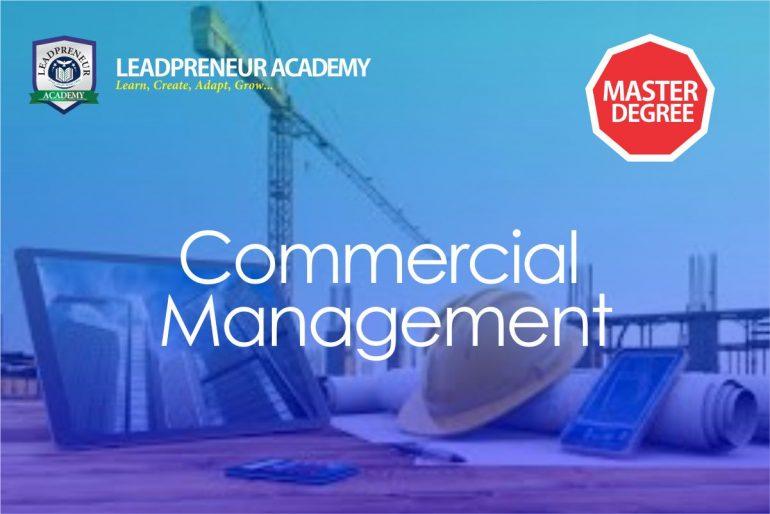 MS.c commercial management