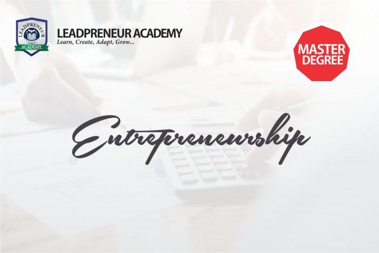 MS.c Entrepreneurship