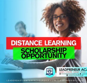 leadpreneur academy scholarship