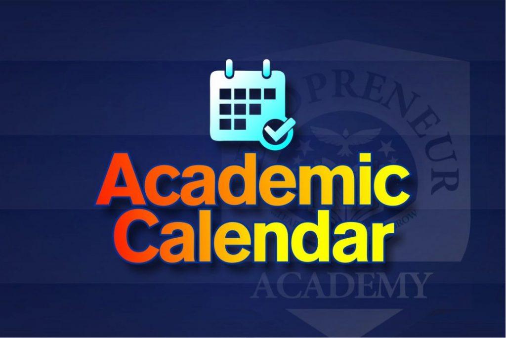 Leadpreneur Academy 2020/2021 Academic Calendar