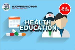 BSC HEALTH EDUCATION