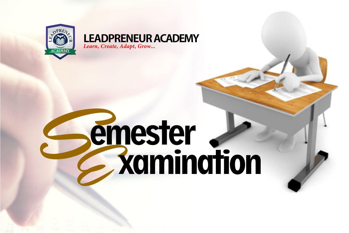 leadpreneur academy benin semester Examination