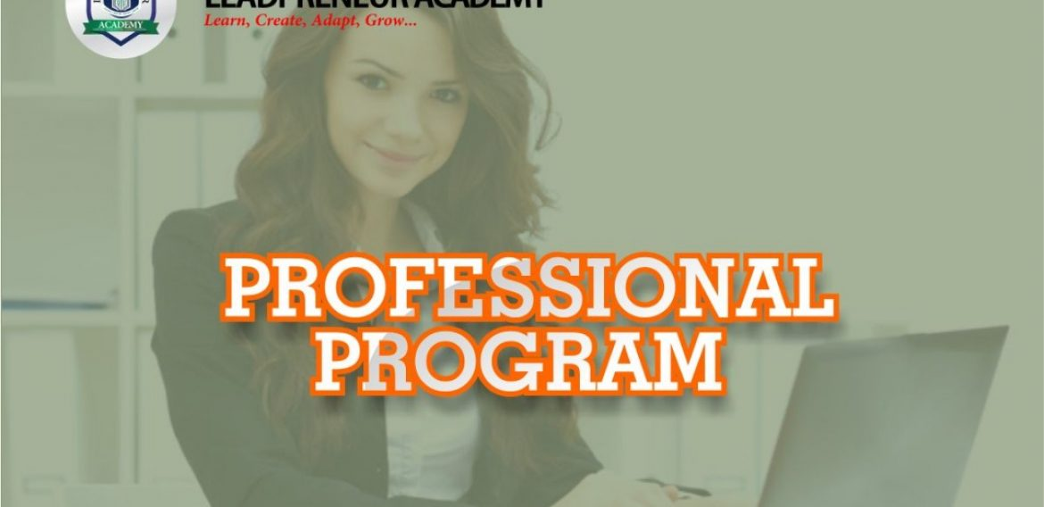 PROFESSIONAL PROGRAMMES