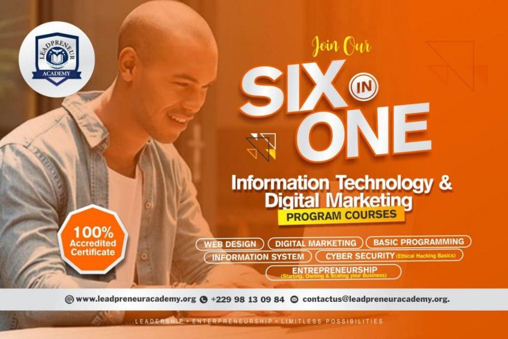 leadpreneur academy benin information technology & digital marketing