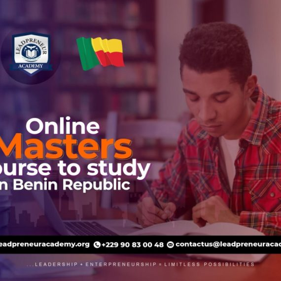 Best Online Masters Degree Course To Study In Benin Republic