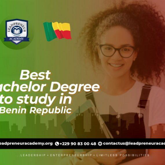 Best Online Bachelor Degree To Study In  Benin Republic