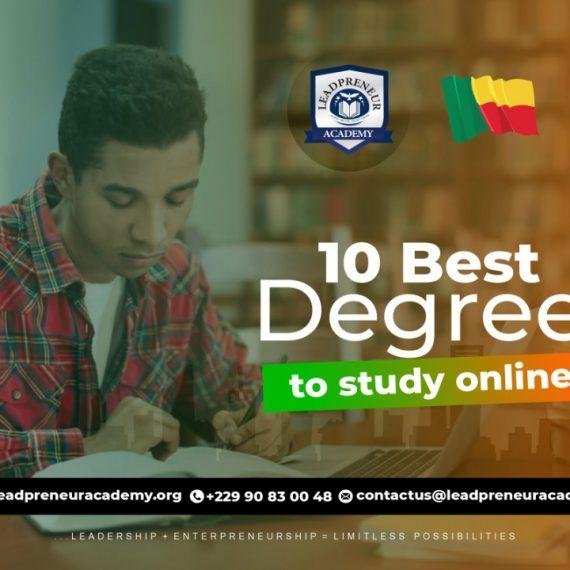 10 Best Degree To Study Online In Benin Republic University