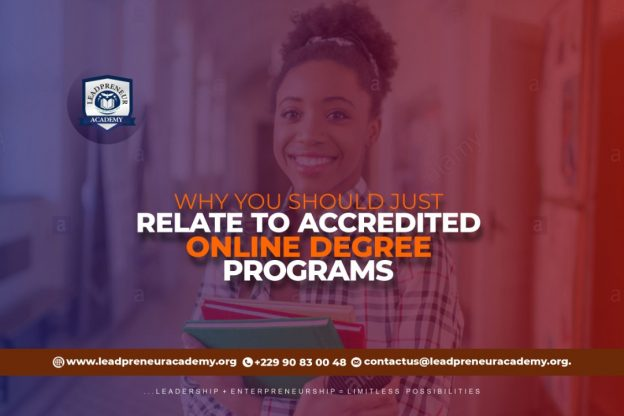 Why you should relate to Accredited online degree programs