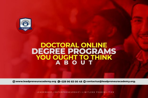 Doctoral online degree