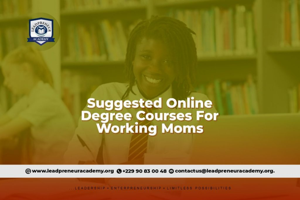 Online courses for working moms