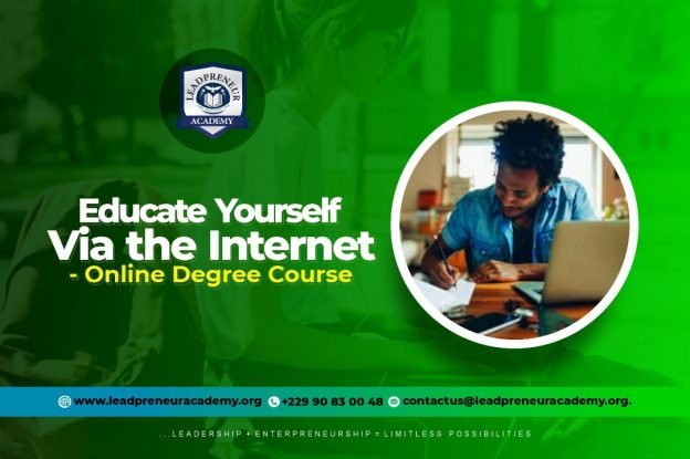 Educate your self via the internet online degree course