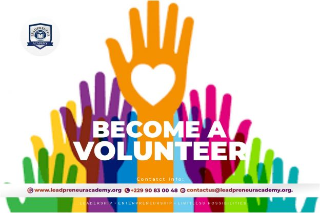 Become a Volunteer in Leadpreneur Academy