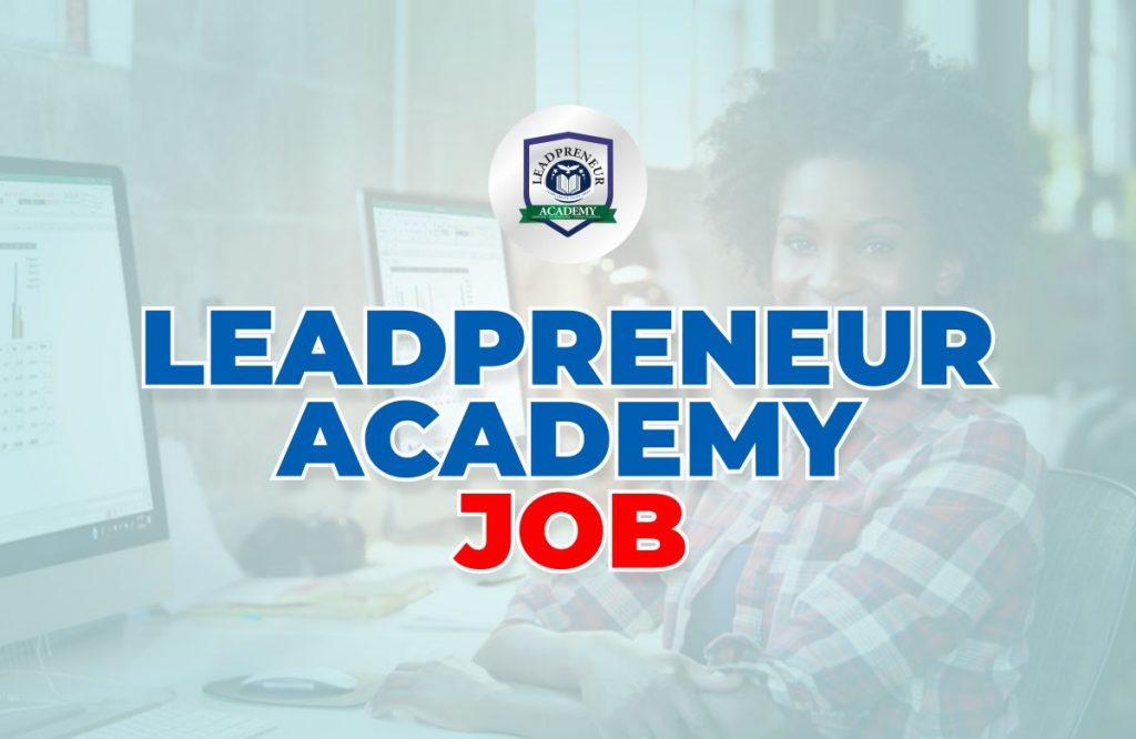 leadpreneur academy Job opportunities in benin republic