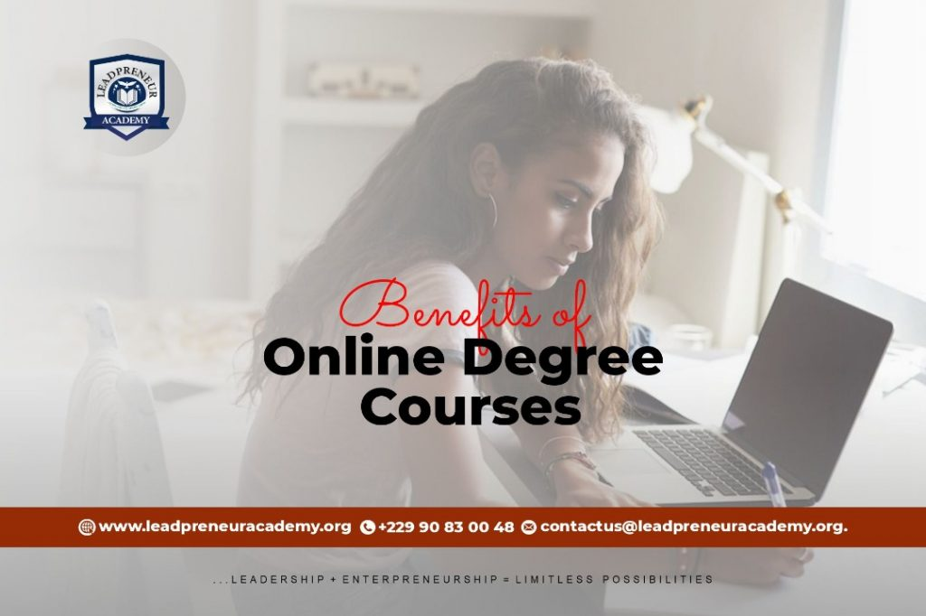 Benefits of online courses
