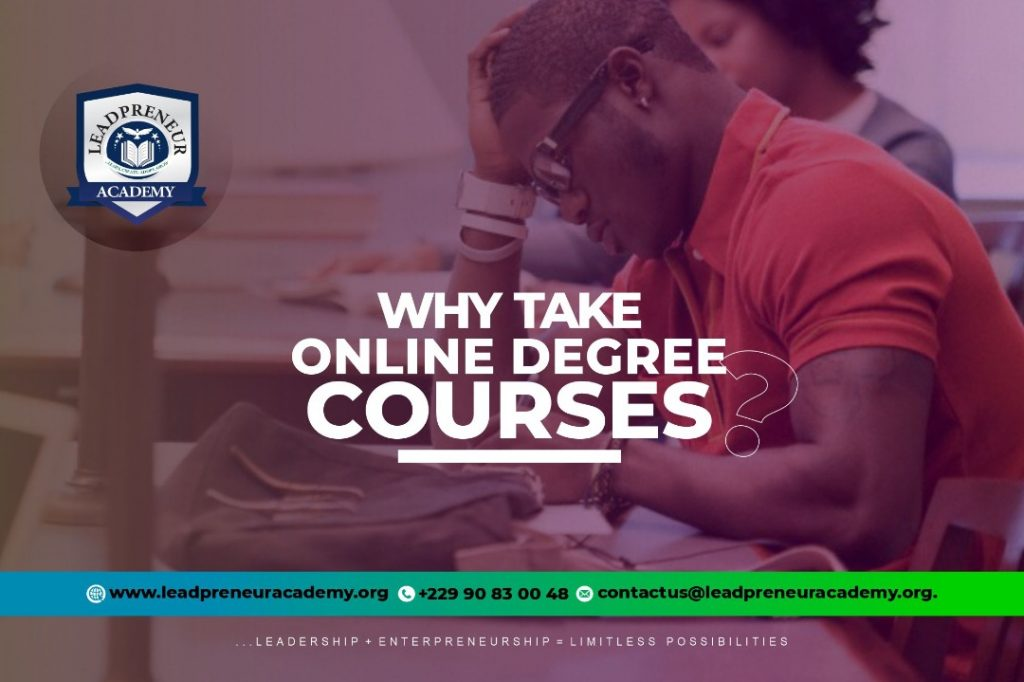 online degree courses cotonou