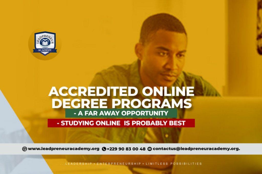 Leadpreneur academy degree programs cotonou