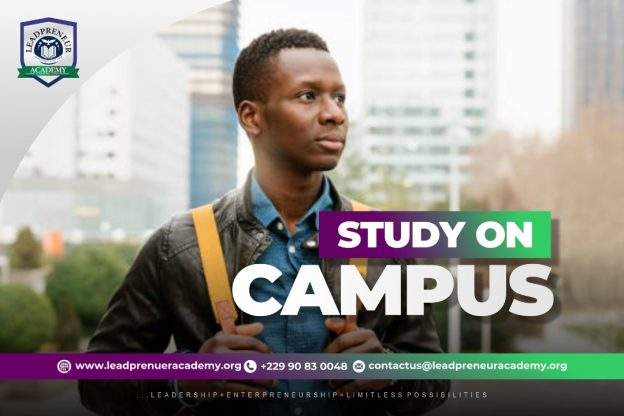 Study on Campus at Leatpreneur Academy