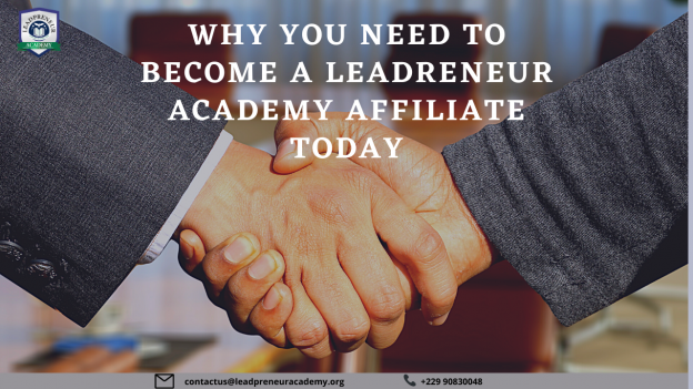 become a LEADPRENEUR ACADEMY affiliate