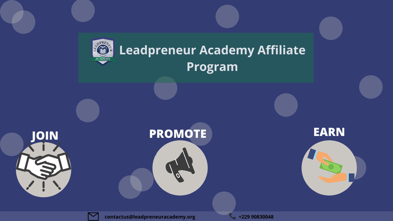 Leadpreneur Academy affiliate program