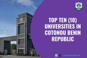 top 10 universities in cotonou benin republic