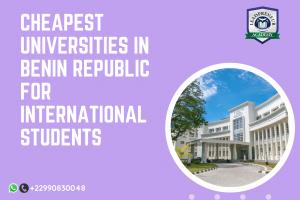 cheapest universities in benin republic for International students