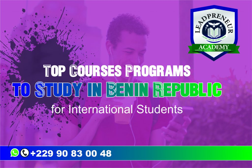 top courses to study in benin republic for international students