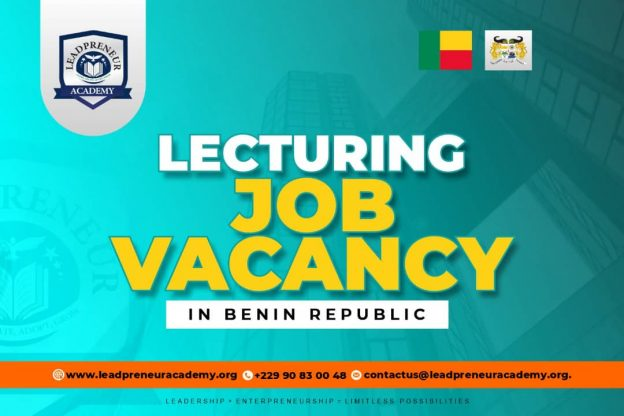 LECTURING JOB VACANCIES IN BENIN REPUBLIC 2021