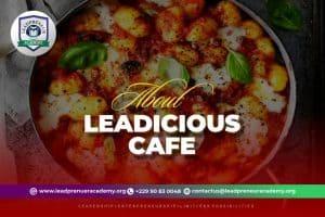 leadicious café restaurants in benin republic