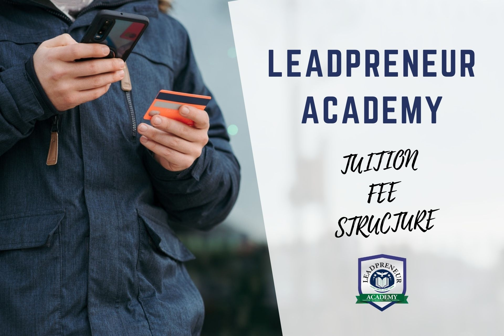 how to apply for a scholarship in leadprenuer academy benin