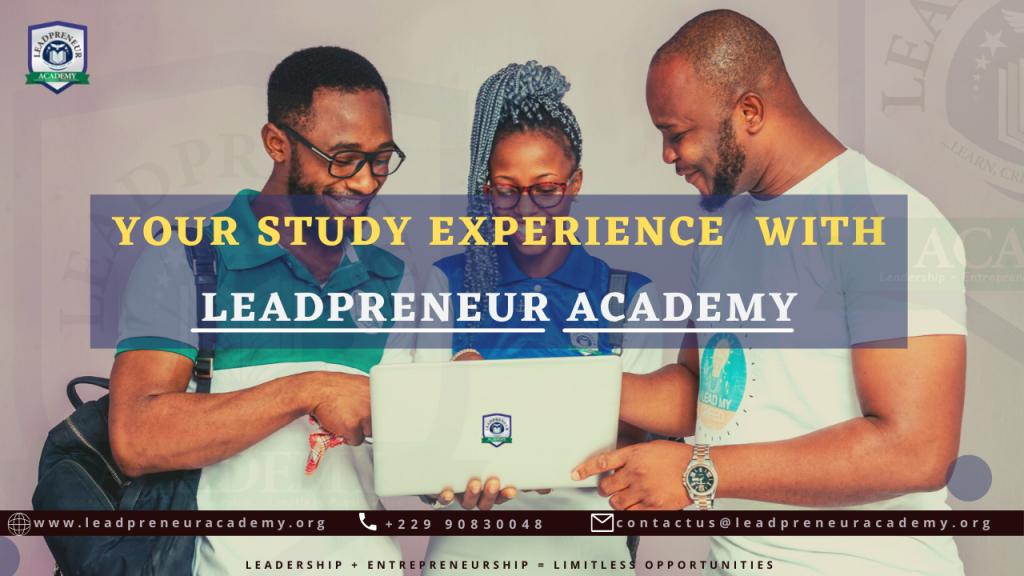 LEADPRENEUR ACADEMY ONLINE STUDY EXPERIENCE