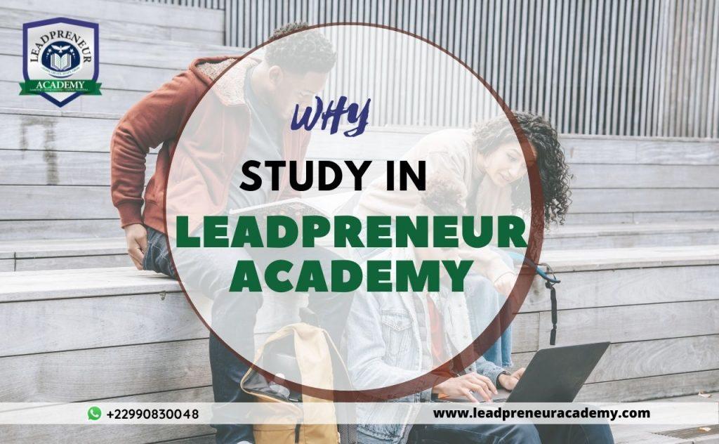 why study in leadpreneur academy benin