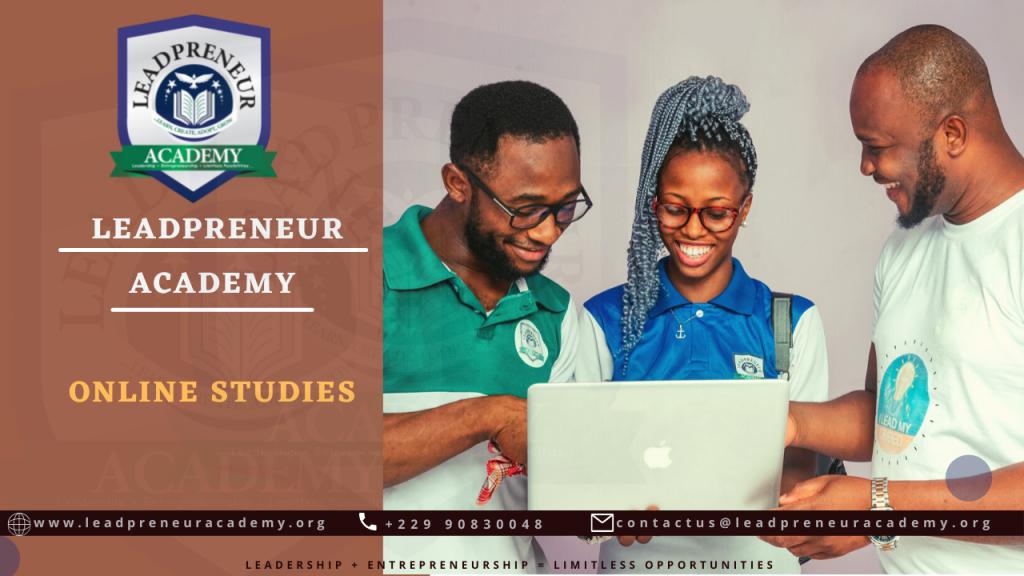 Leadpreneur Academy Online Studies Benin Republic